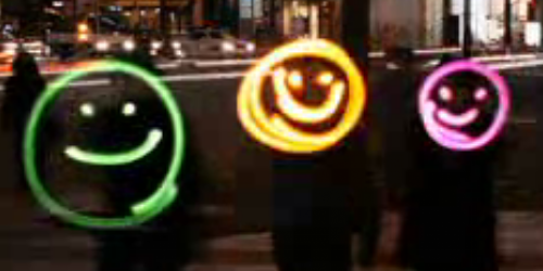 Emoticon lights