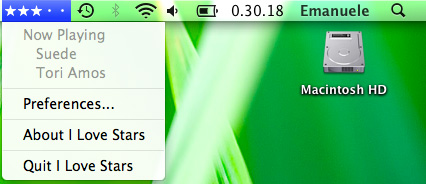 I love Stars - Software per iTunes