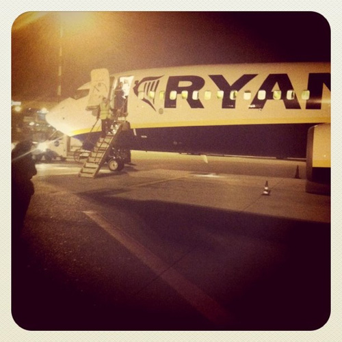 Aereo Ryanair fermo
