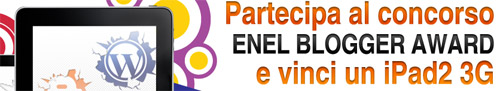 Concorso Enel Blogger Award 2012
