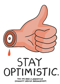 Jeremyville - Stay Optimistic