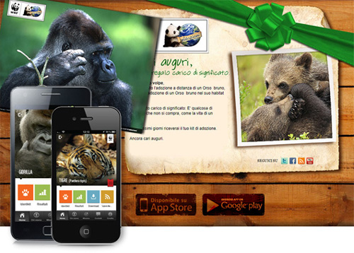 WWF - Adozioni digitali