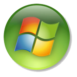 Windows XP - Green button