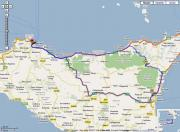 Mappa Google - Weekend siciliano