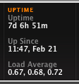 Macbook - Uptime