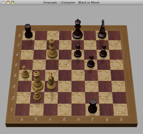 Chess - Gioco in stallo