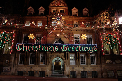 Christmas Greetings in Leicester