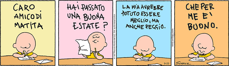 Peanuts - Estate positiva
