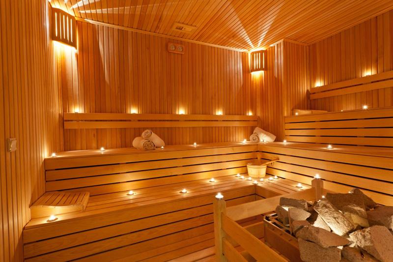 Percorso sauna e bagno turco. | …time is what you make of it…