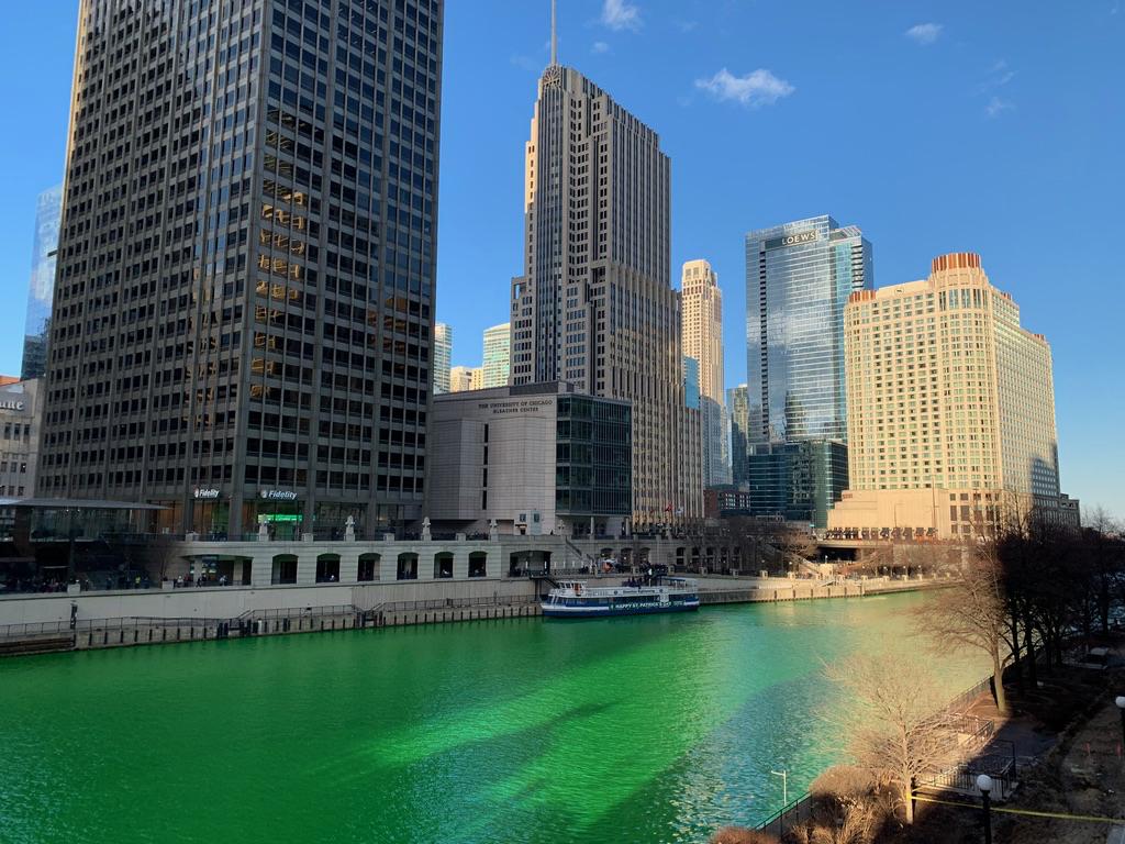 Fiume in verde per St. Patrick #1