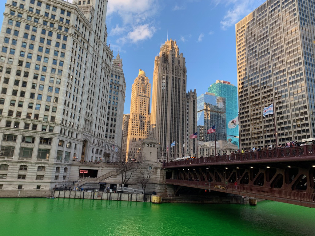 Fiume in verde per St. Patrick #2